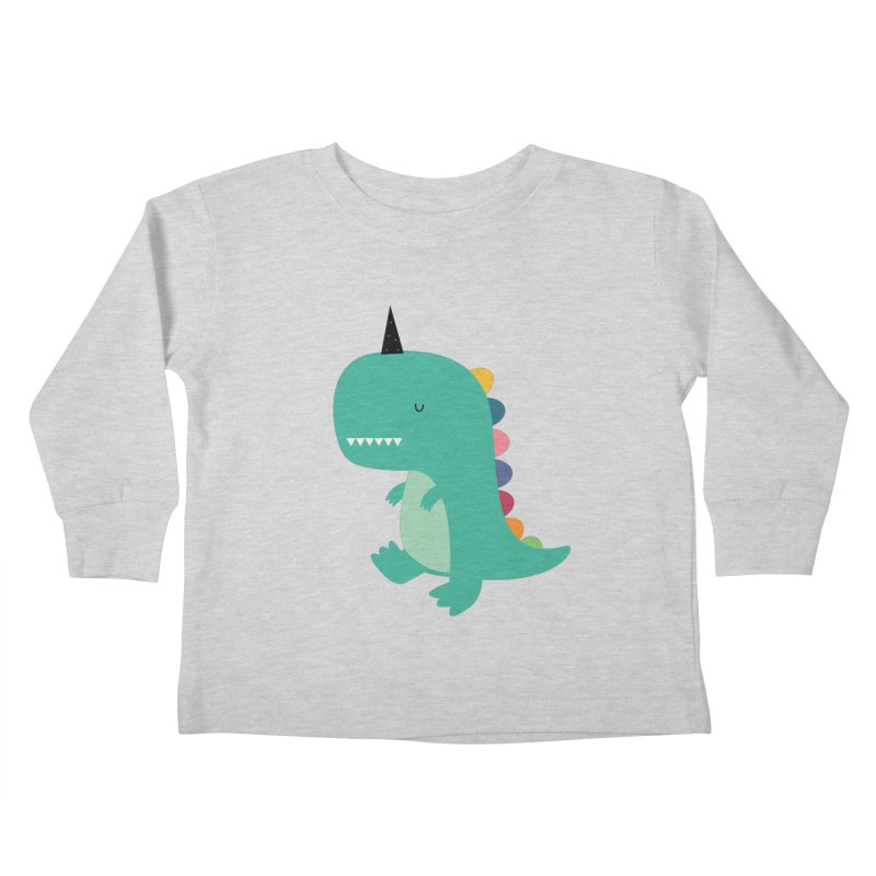 Dinocorn Kids Toddler Longsleeve T-Shirt by andywestface's Artist Shop