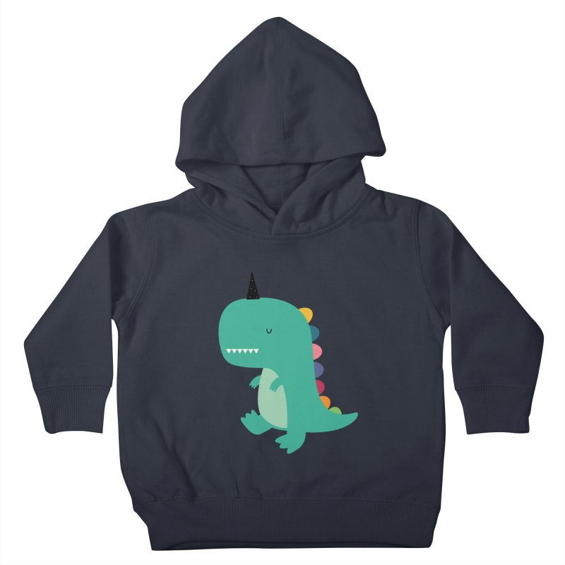 Dinocorn Kids Toddler Pullover Hoody by andywestface's Artist Shop