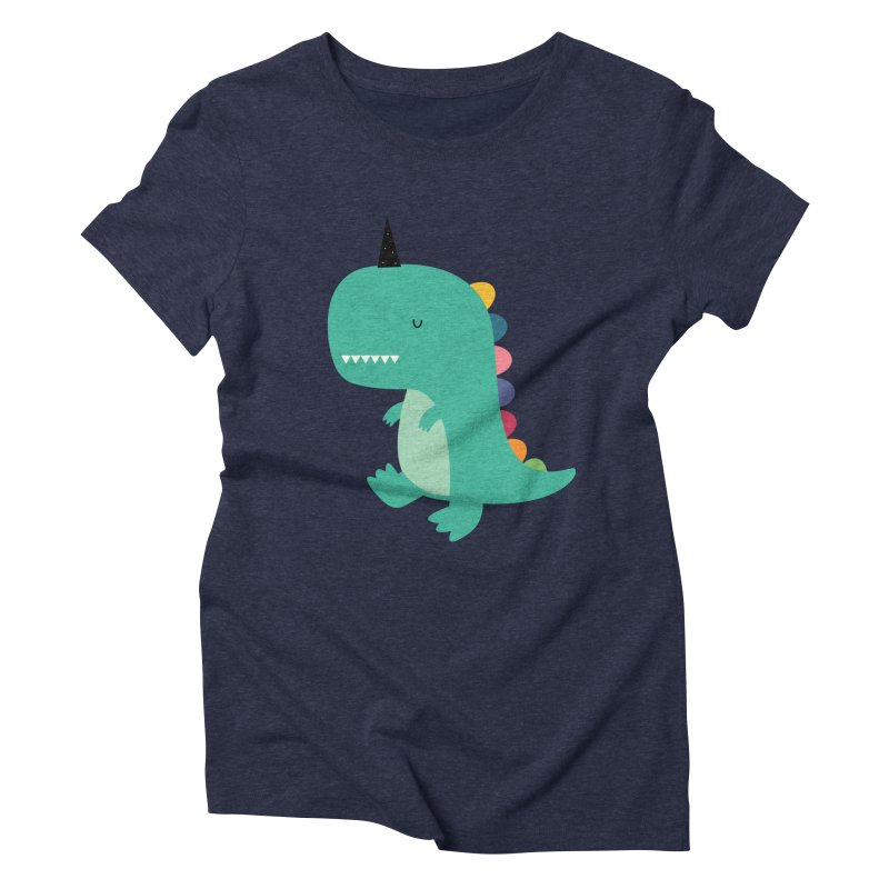 Dinocorn Women's Triblend T-Shirt by andywestface's Artist Shop