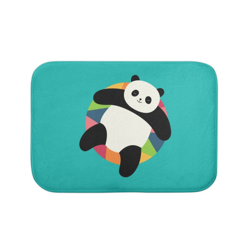 Chillin Home Bath Mat by andywestface's Artist Shop