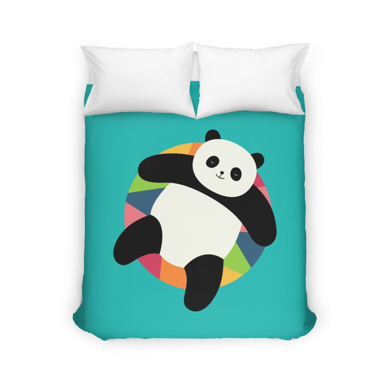 Chillin Home Duvet by andywestface's Artist Shop