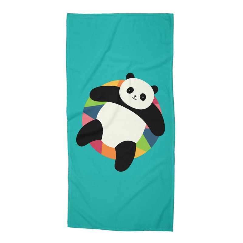 Chillin Accessories Beach Towel by andywestface's Artist Shop