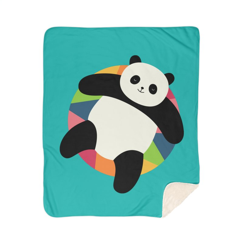 Chillin Home Sherpa Blanket Blanket by andywestface's Artist Shop