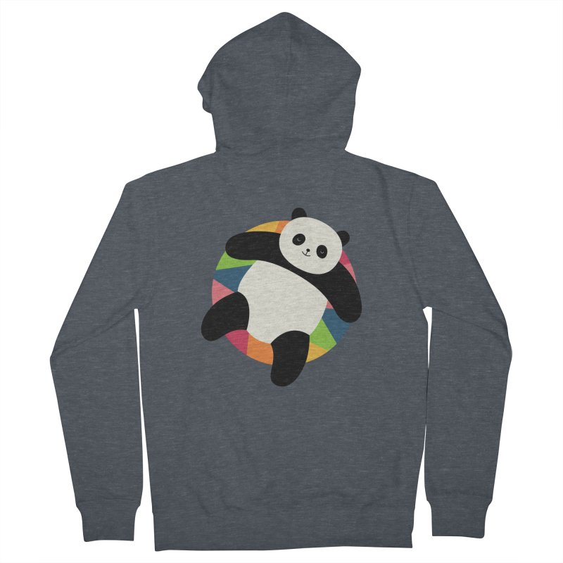 Chillin Men's French Terry Zip-Up Hoody by andywestface's Artist Shop