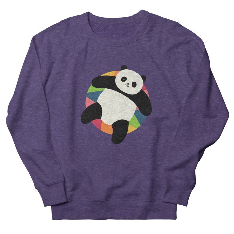 Chillin Women's French Terry Sweatshirt by andywestface's Artist Shop