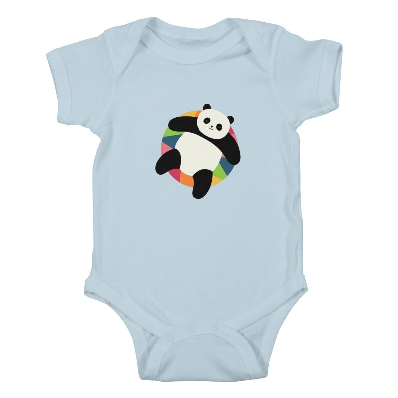 Chillin Kids Baby Bodysuit by andywestface's Artist Shop