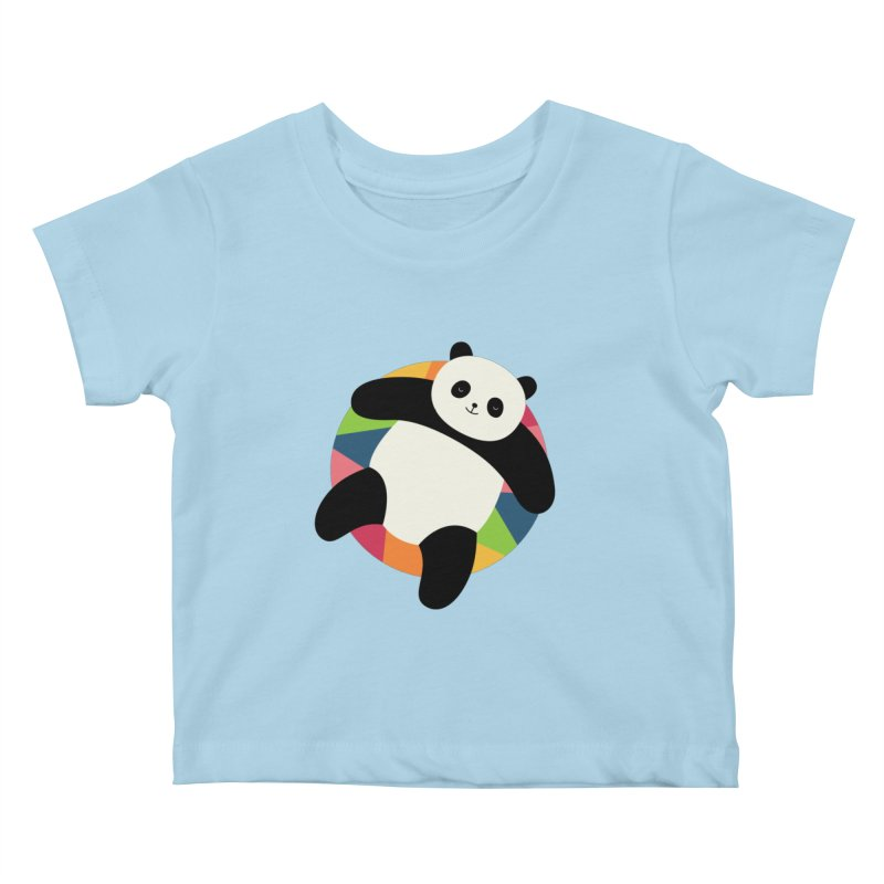 Chillin Kids Baby T-Shirt by andywestface's Artist Shop