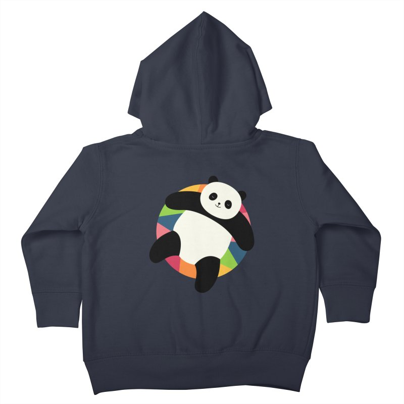 Chillin Kids Toddler Zip-Up Hoody by andywestface's Artist Shop