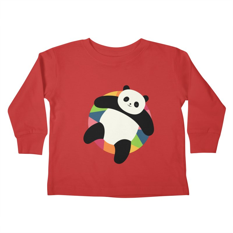 Chillin Kids Toddler Longsleeve T-Shirt by andywestface's Artist Shop