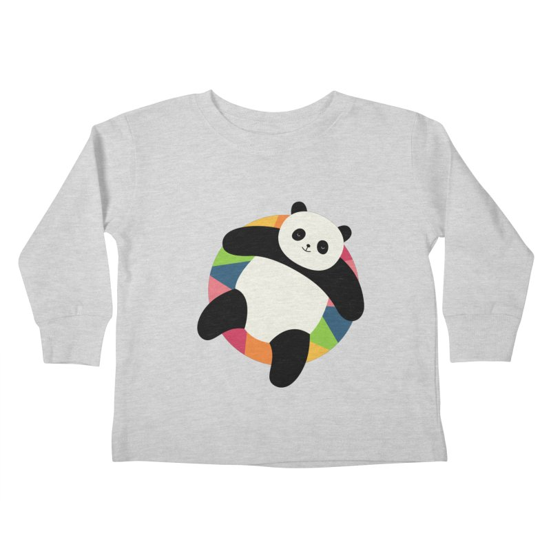 Chillin Kids Toddler Longsleeve T-Shirt by andywestface's Artist Shop