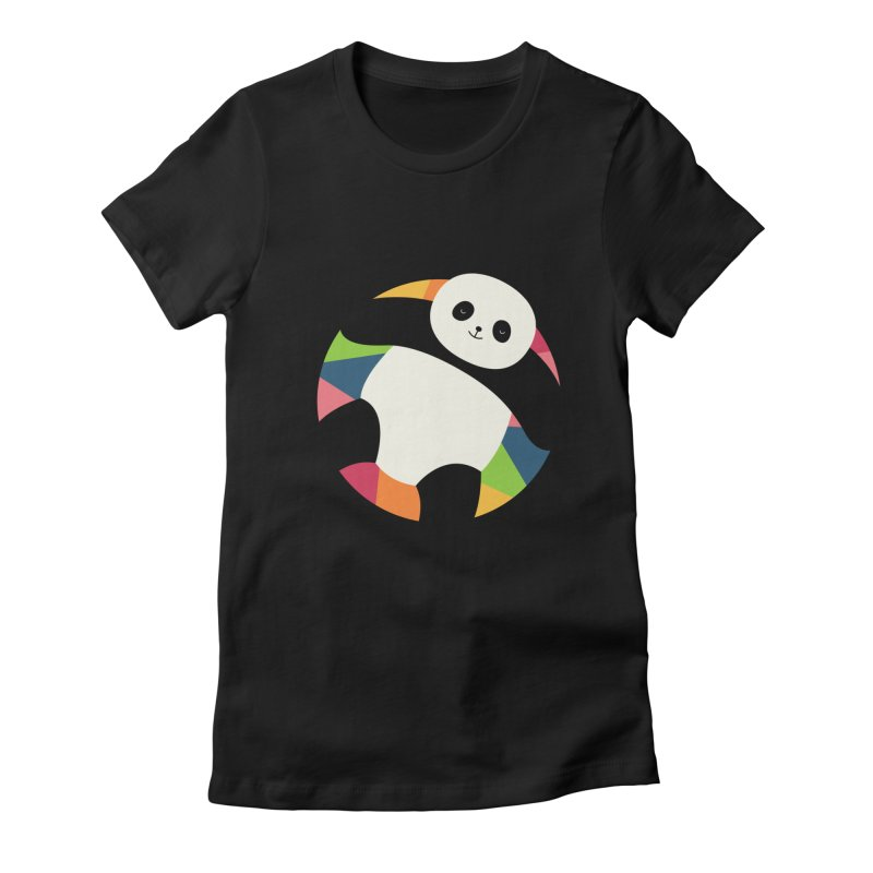 Chillin Women's Fitted T-Shirt by andywestface's Artist Shop