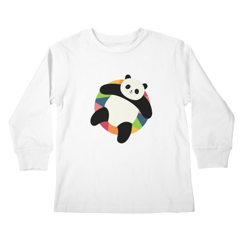 Chillin Kids Longsleeve T-Shirt by andywestface's Artist Shop