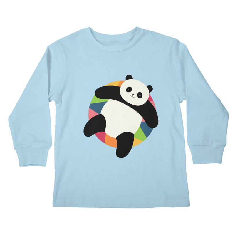 Chillin Kids Longsleeve T-Shirt by andywestface's Artist Shop