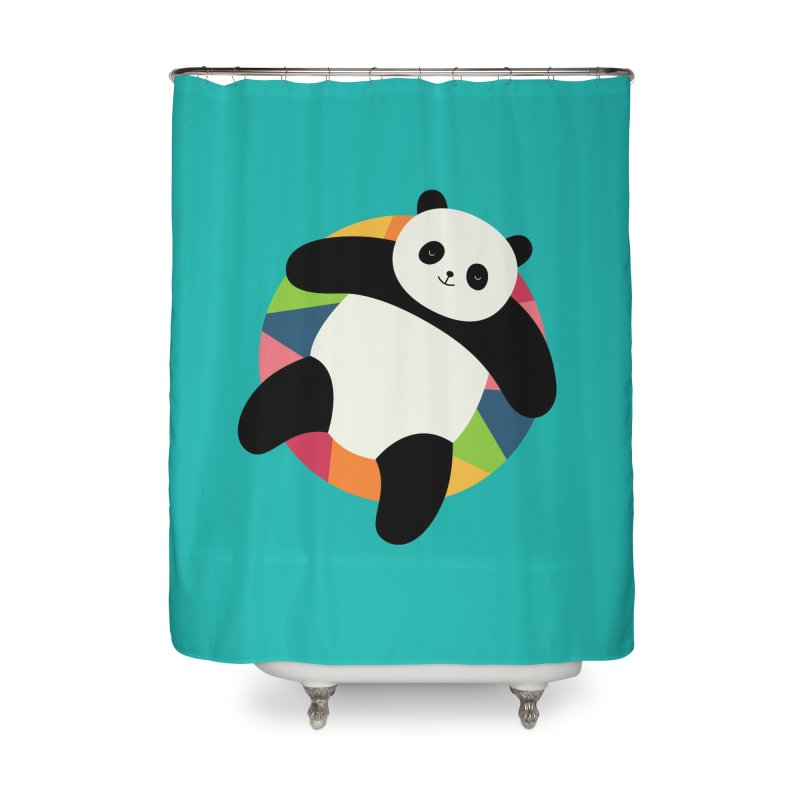 Chillin Home Shower Curtain by andywestface's Artist Shop
