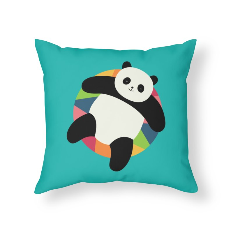 Chillin Home Throw Pillow by andywestface's Artist Shop