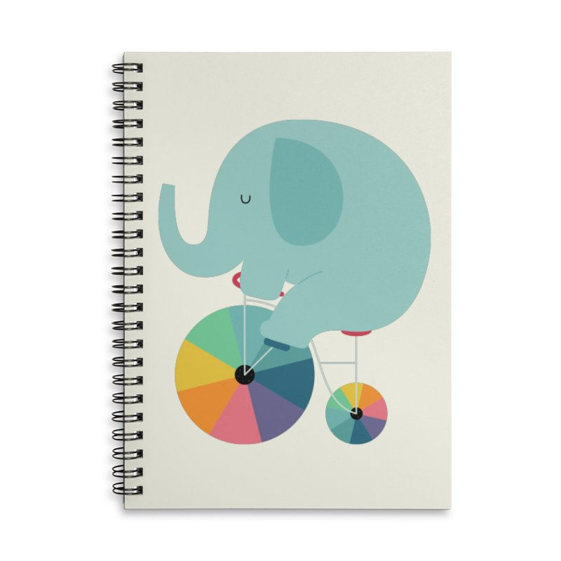 Beautiful Ride Accessories Lined Spiral Notebook by andywestface's Artist Shop