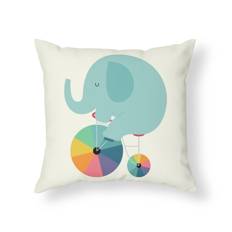 Beautiful Ride Home Throw Pillow by andywestface's Artist Shop