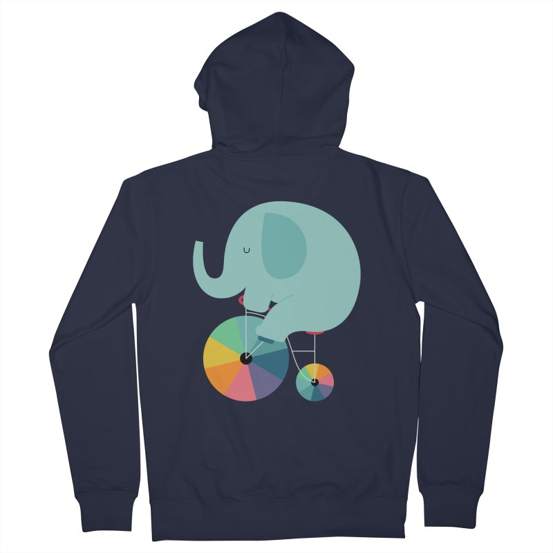 Beautiful Ride Men's French Terry Zip-Up Hoody by andywestface's Artist Shop