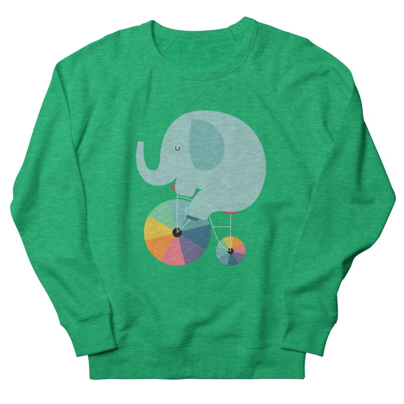 Beautiful Ride Women's French Terry Sweatshirt by andywestface's Artist Shop