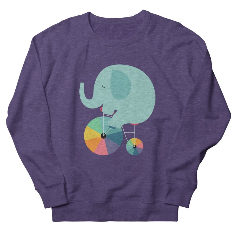 Beautiful Ride Men's French Terry Sweatshirt by andywestface's Artist Shop