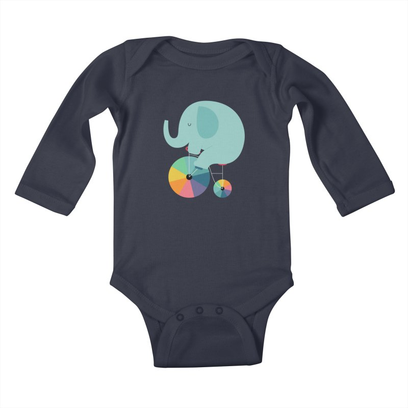 Beautiful Ride Kids Baby Longsleeve Bodysuit by andywestface's Artist Shop