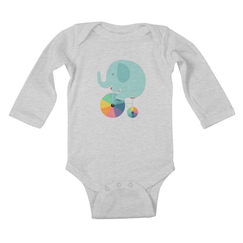 Beautiful Ride Kids Baby Longsleeve Bodysuit by andywestface's Artist Shop