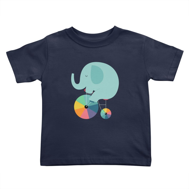 Beautiful Ride Kids Toddler T-Shirt by andywestface's Artist Shop