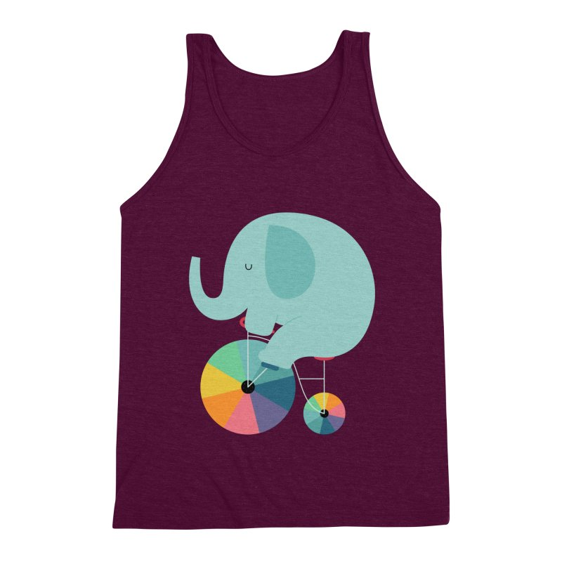 Beautiful Ride Men's Triblend Tank by andywestface's Artist Shop