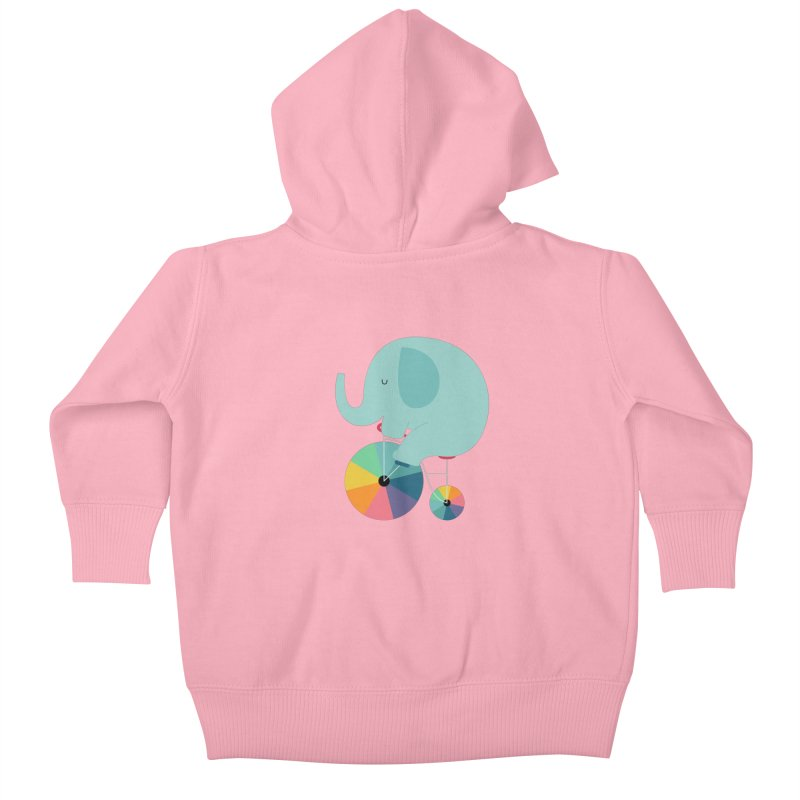 Beautiful Ride Kids Baby Zip-Up Hoody by andywestface's Artist Shop