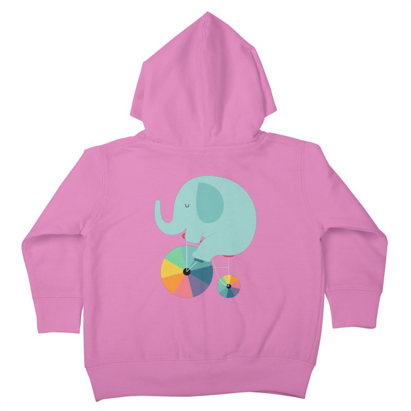 Beautiful Ride Kids Toddler Zip-Up Hoody by andywestface's Artist Shop