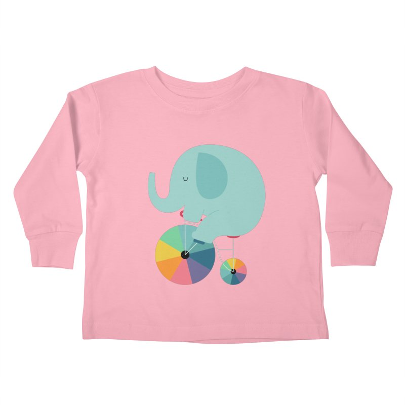 Beautiful Ride Kids Toddler Longsleeve T-Shirt by andywestface's Artist Shop