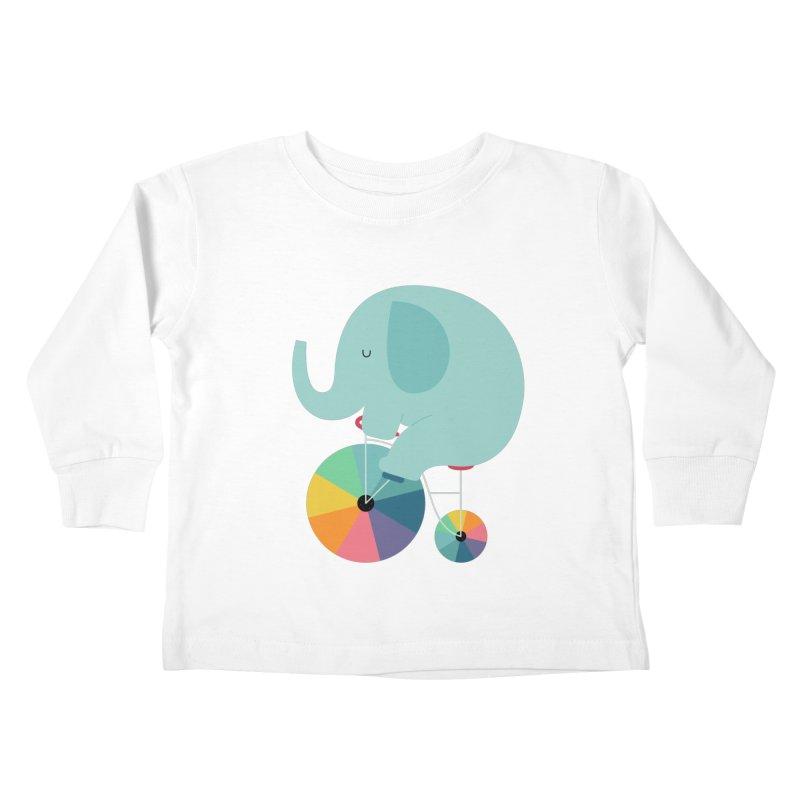 Beautiful Ride Kids Toddler Longsleeve T-Shirt by andywestface's Artist Shop