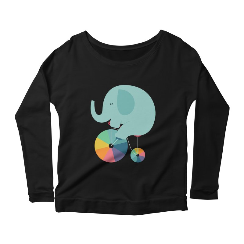 Beautiful Ride Women's Scoop Neck Longsleeve T-Shirt by andywestface's Artist Shop