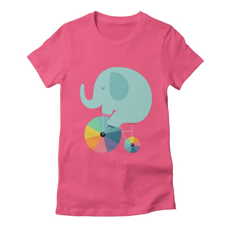 Beautiful Ride Women's Fitted T-Shirt by andywestface's Artist Shop