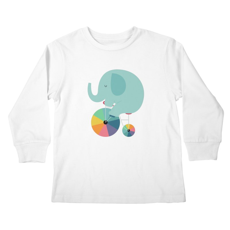 Beautiful Ride Kids Longsleeve T-Shirt by andywestface's Artist Shop