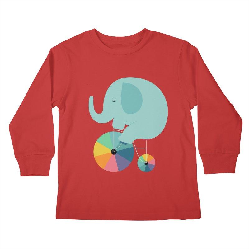Beautiful Ride Kids Longsleeve T-Shirt by andywestface's Artist Shop
