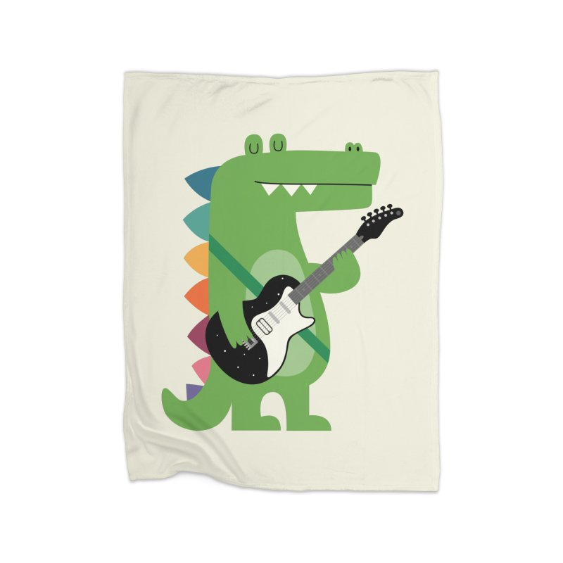 Croco Rock Home Blanket by andywestface's Artist Shop