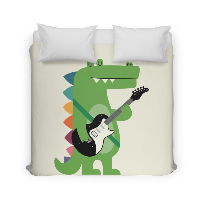 Croco Rock Home Duvet by andywestface's Artist Shop