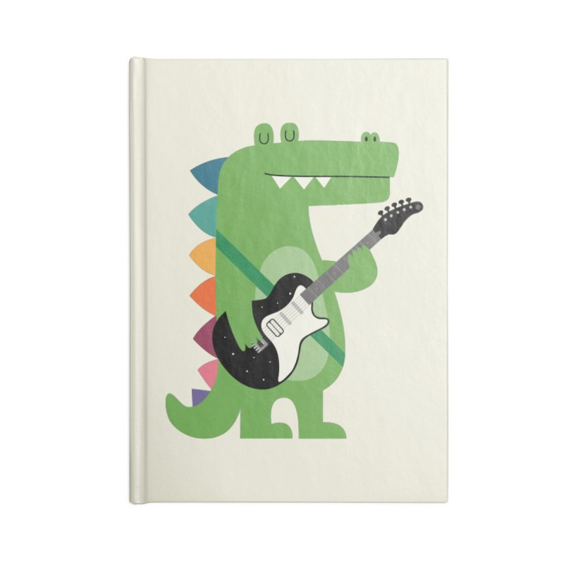 Croco Rock Accessories Lined Journal Notebook by andywestface's Artist Shop