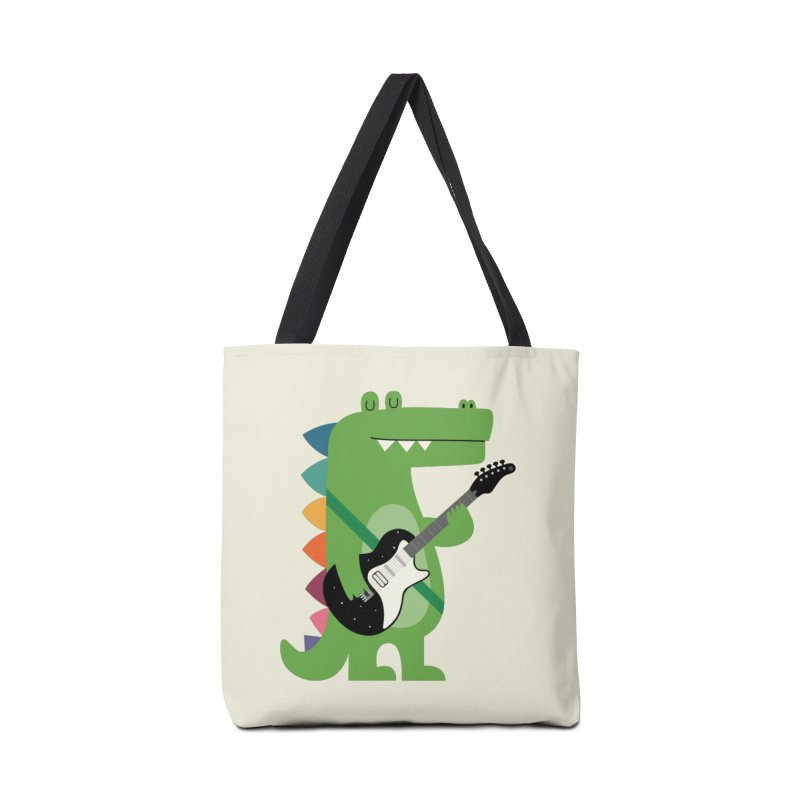 Croco Rock Accessories Tote Bag Bag by andywestface's Artist Shop