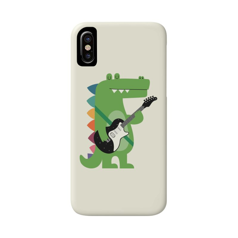 Croco Rock Accessories Phone Case by andywestface's Artist Shop