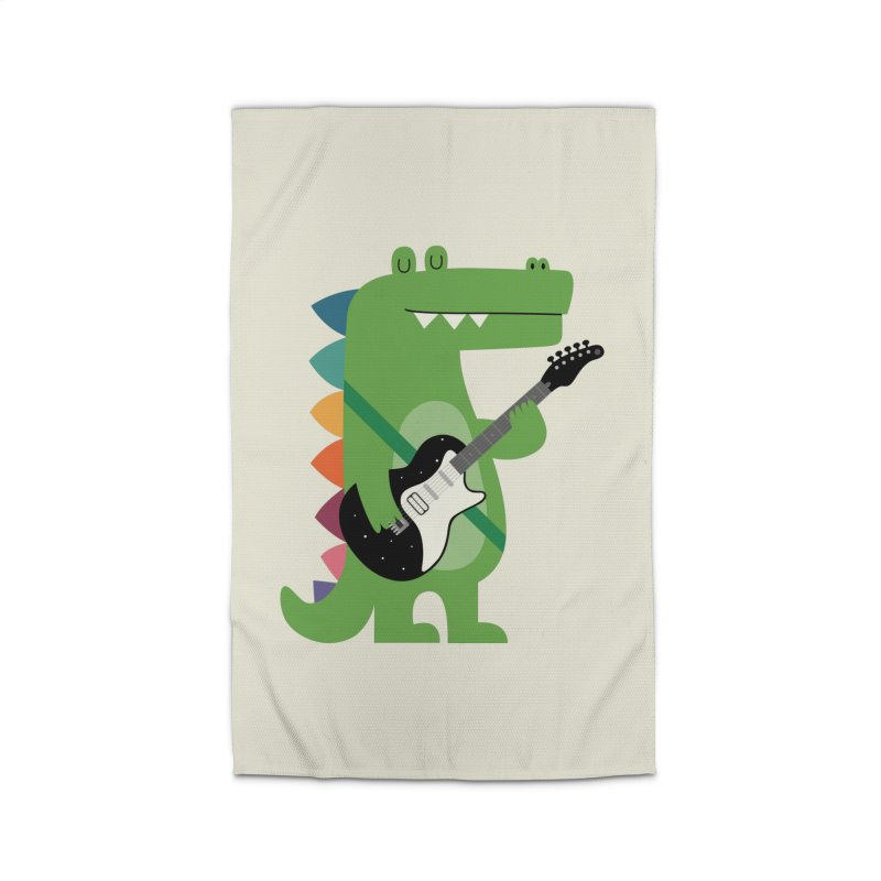 Croco Rock Home Rug by andywestface's Artist Shop
