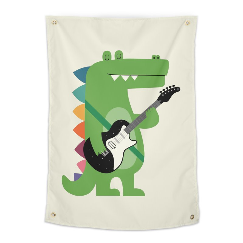 Croco Rock Home Tapestry by andywestface's Artist Shop