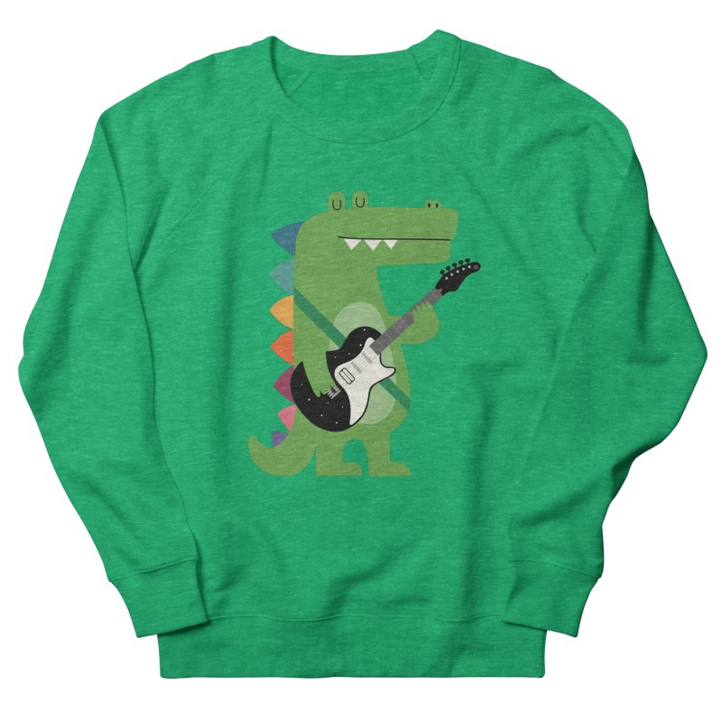 Croco Rock Women's Sweatshirt by andywestface's Artist Shop