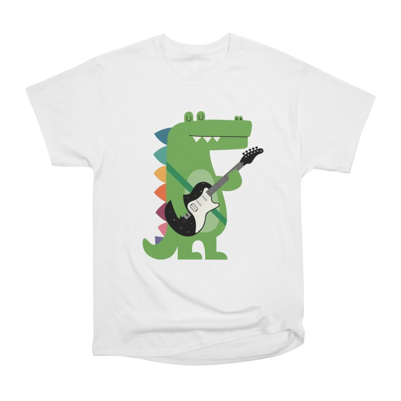 Croco Rock Men's Heavyweight T-Shirt by andywestface's Artist Shop