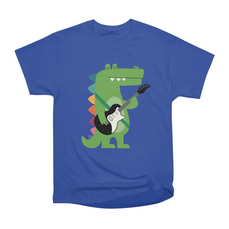 Croco Rock Men's Heavyweight T-Shirt by andywestface's Artist Shop