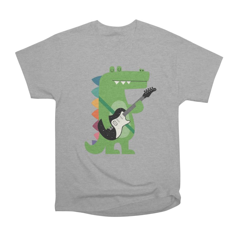 Croco Rock Women's Heavyweight Unisex T-Shirt by andywestface's Artist Shop
