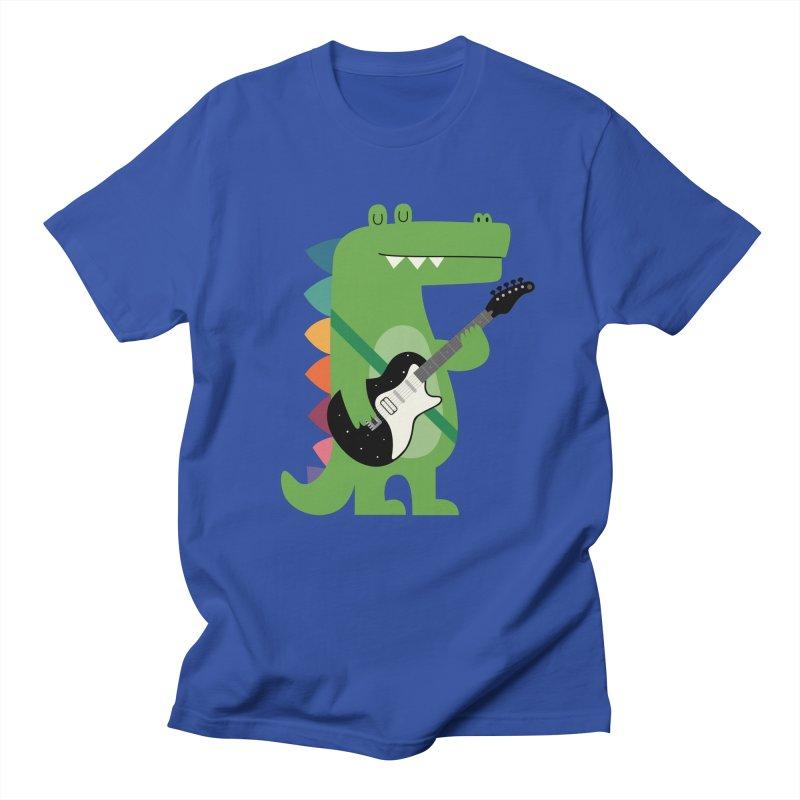 Croco Rock Women's Regular Unisex T-Shirt by andywestface's Artist Shop