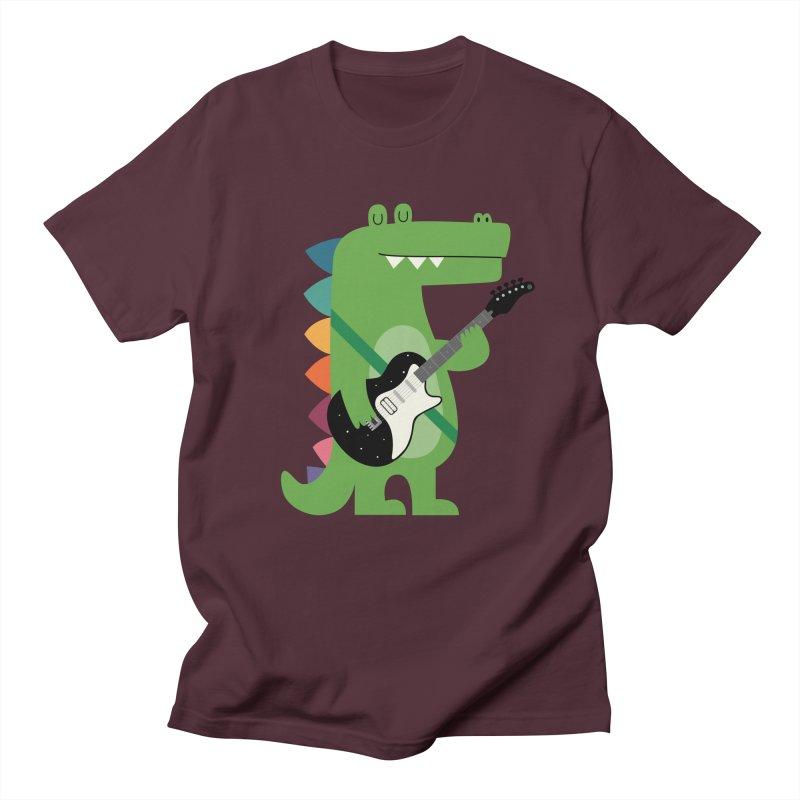 Croco Rock Men's Regular T-Shirt by andywestface's Artist Shop