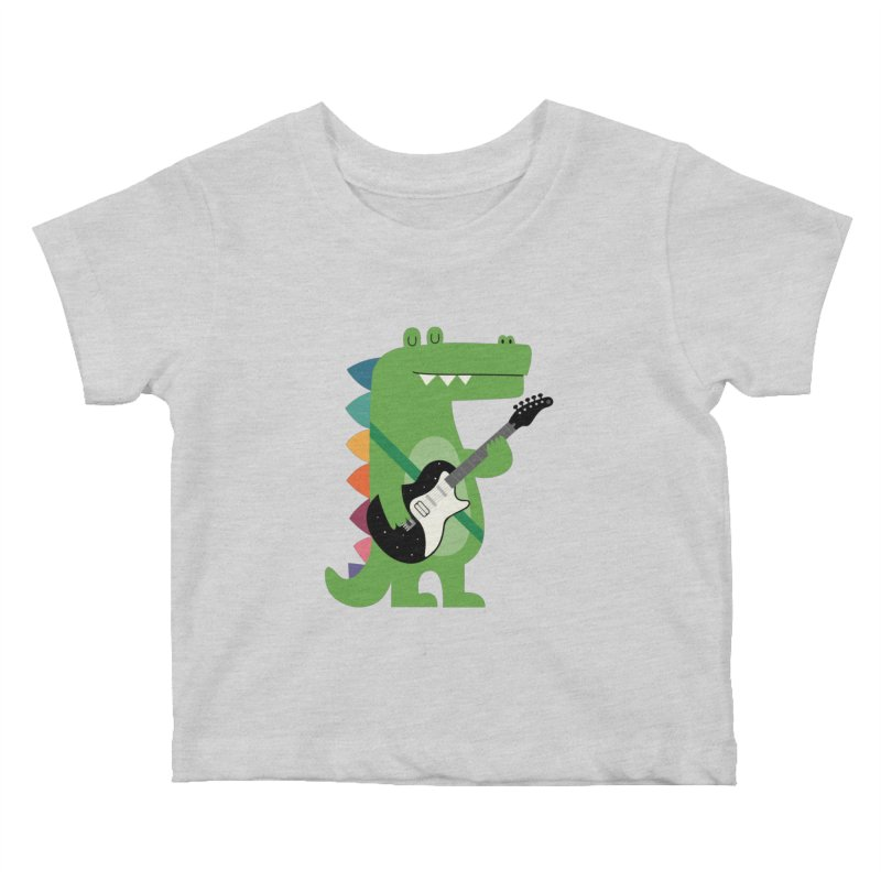 Croco Rock Kids Baby T-Shirt by andywestface's Artist Shop